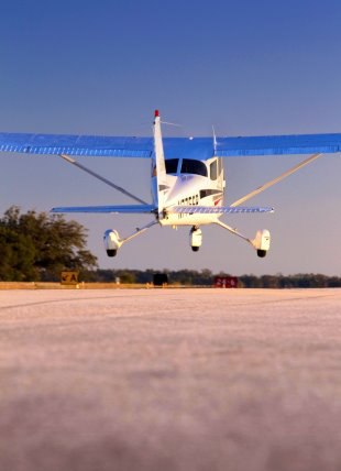 cessna taking off for an aircraft appraisal