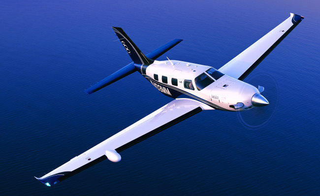 piper aircraft flying for airplane appraiser