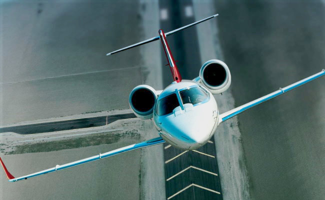 bizjet aircraft taking off airplane appraisal